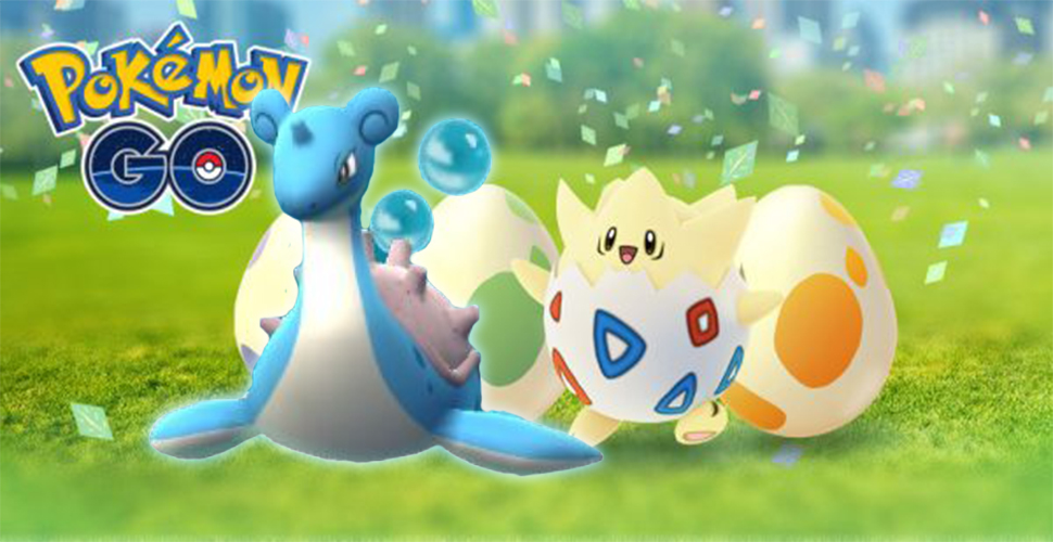 Pokémon GO Ostern Lapras Titel
