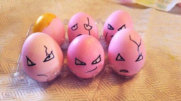Pokemon GO Owei Oster-Eier