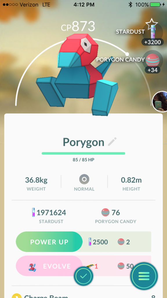 Pokemon GO Porygon Event