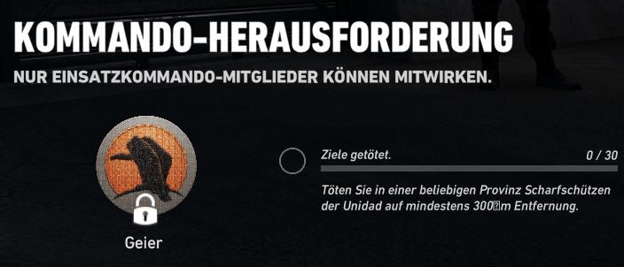 Season 1 Einsatzkommando Challenge