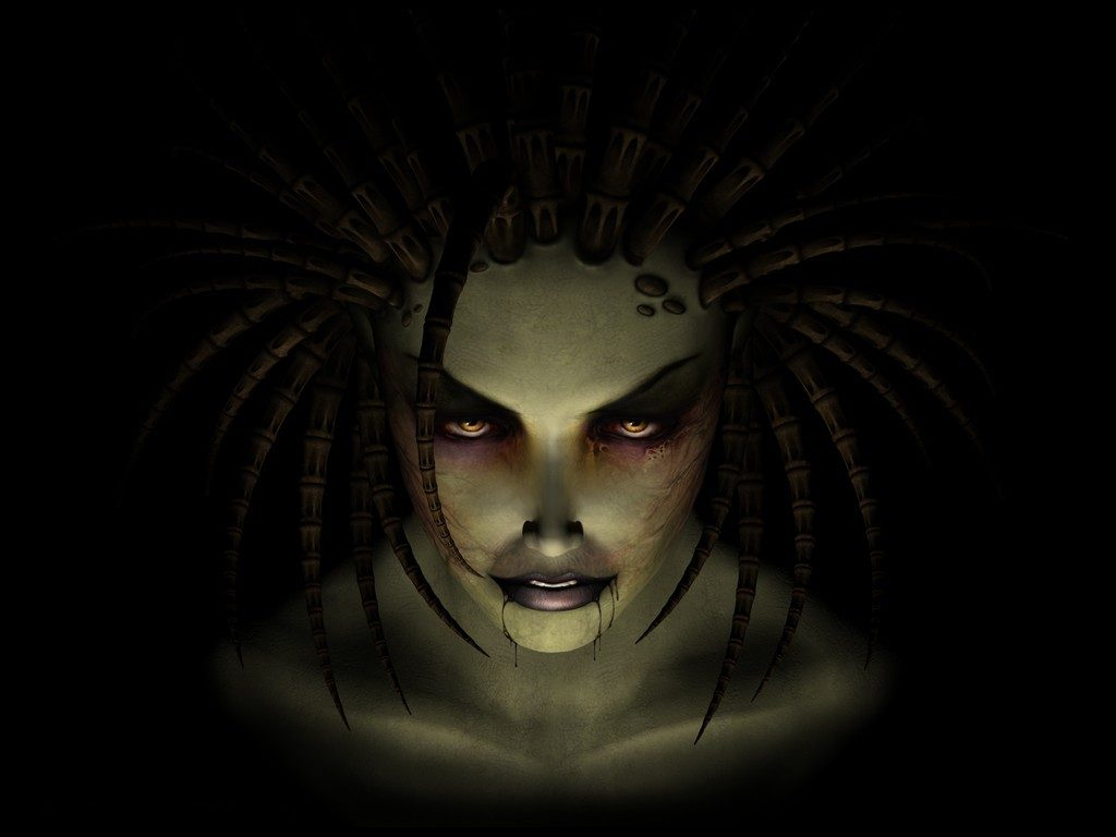 StarCraft Sarah Kerrigan Queen of Blades