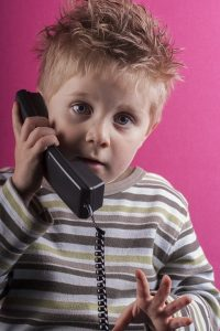 Telefon Junge