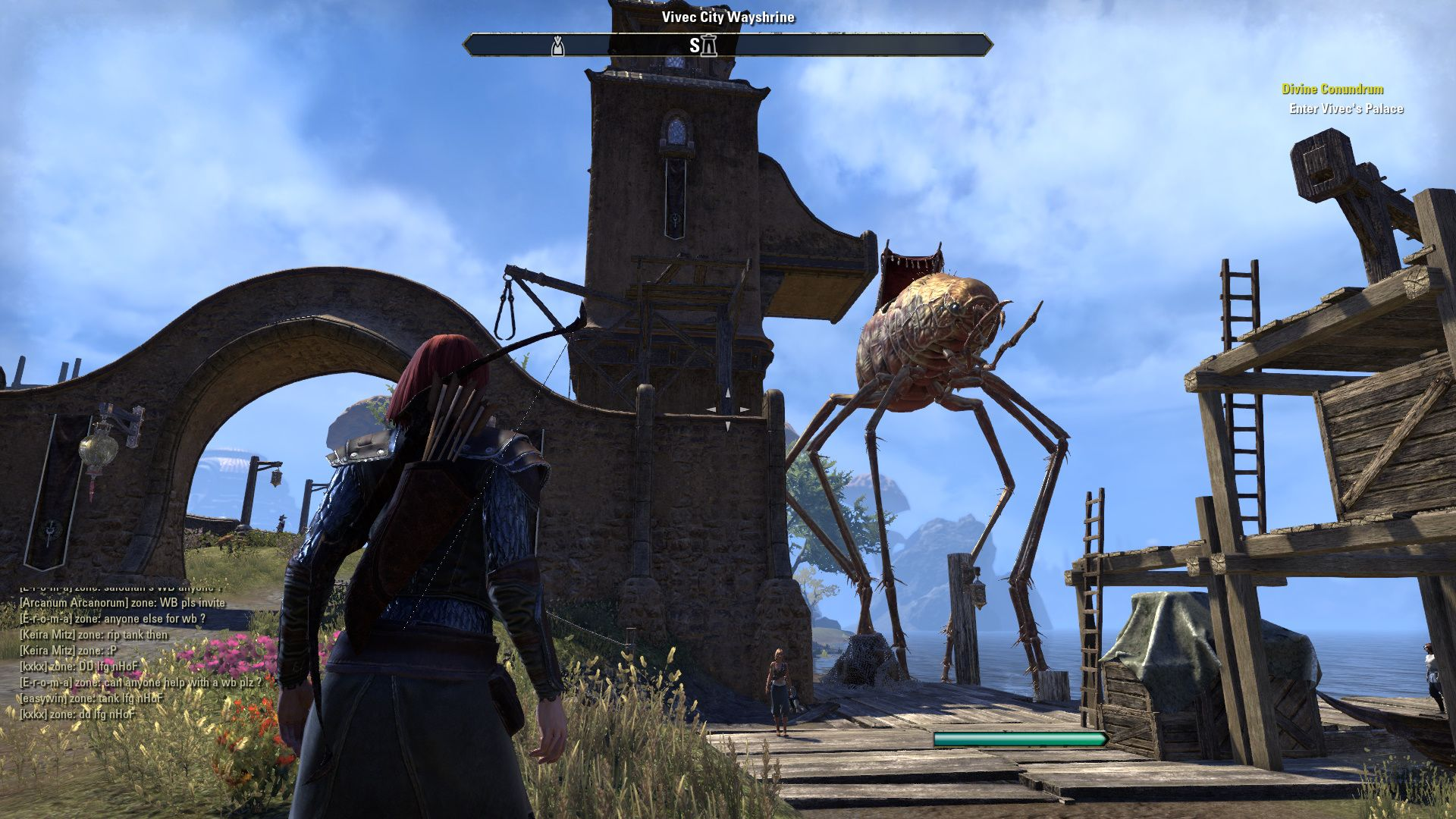 The elder scrolls online morrowind beta 08