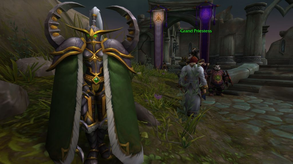 WoW Maiev Broken Shore