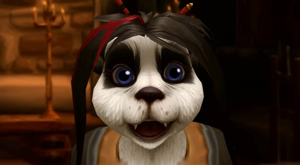 WoW Pandaren Ming-Chu surprised
