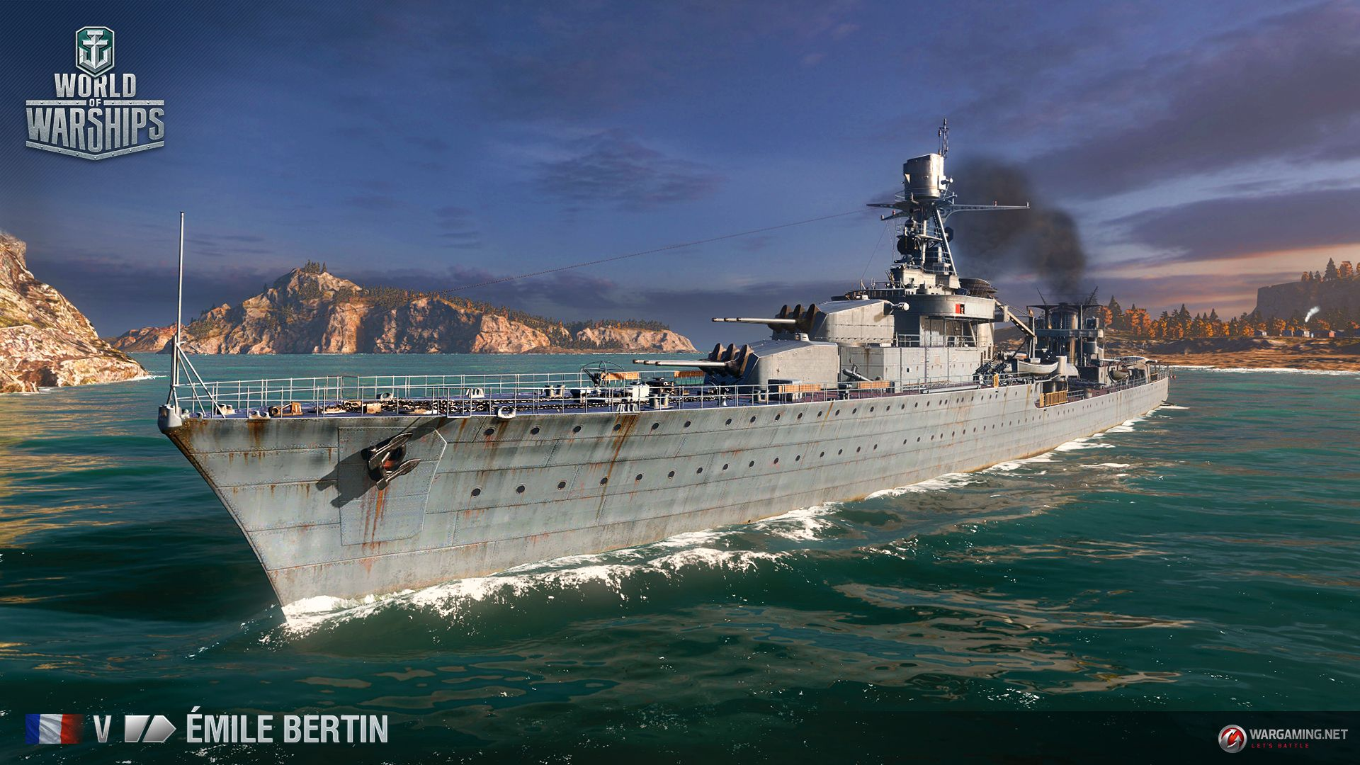 World of Warships emile bertin