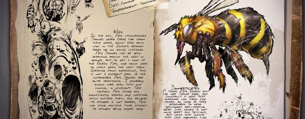 """Ark: """"Giant Bee"""" – Biene kommt mit Patch v257, Honig hilft beim Jagen"""