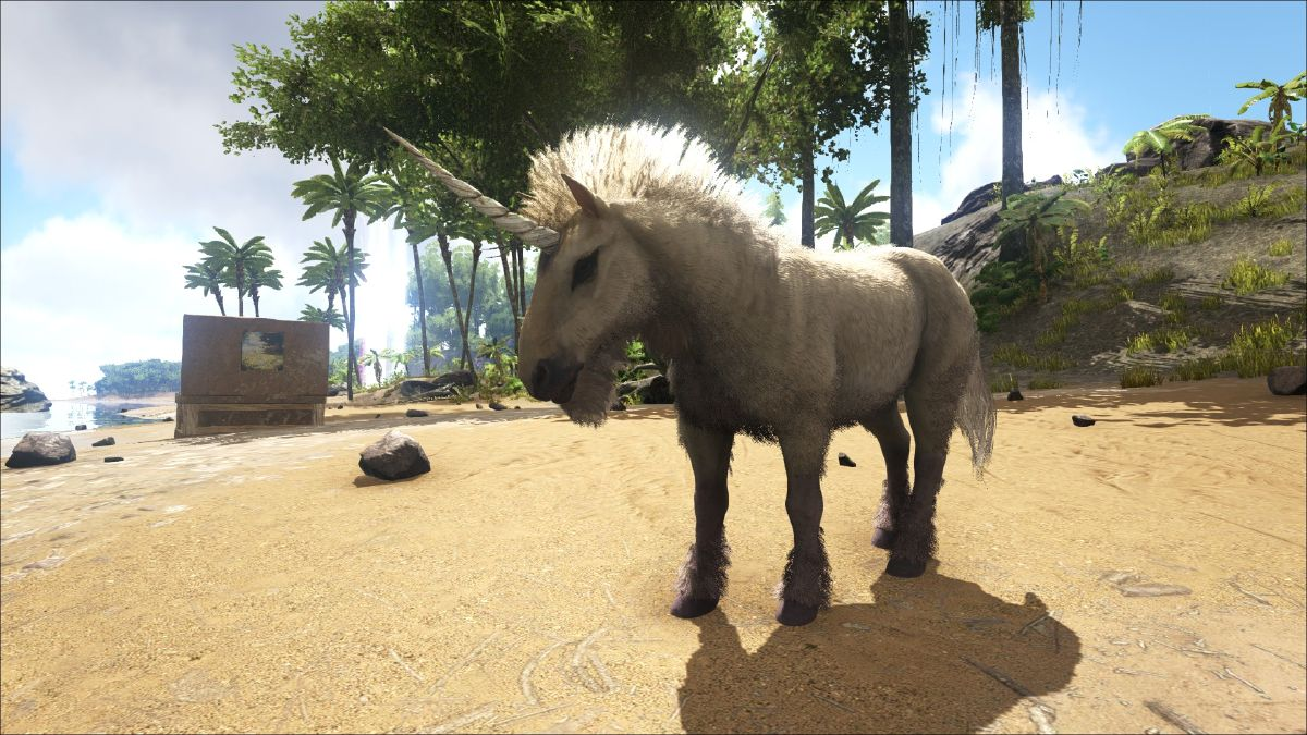 ark Unicorn_Ingame