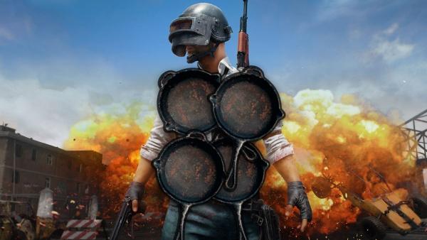 Playerunknowns Battlegrounds - Pfannenrstung