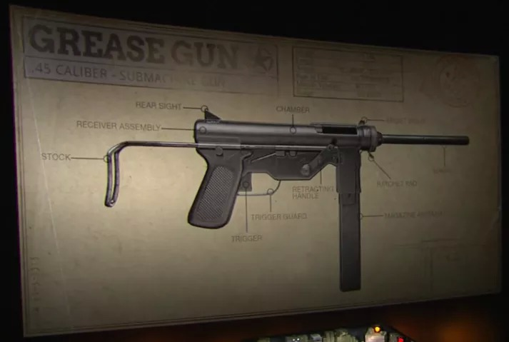 COD WW2 Grease Gun