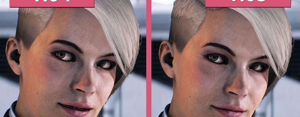 Mass Effect: Andromeda – Gesichteranimationen aus Patch 1.05 im Vergleich