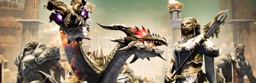 Riders of Icarus: Fractura-Update – 10 Spieler gegen die Festung