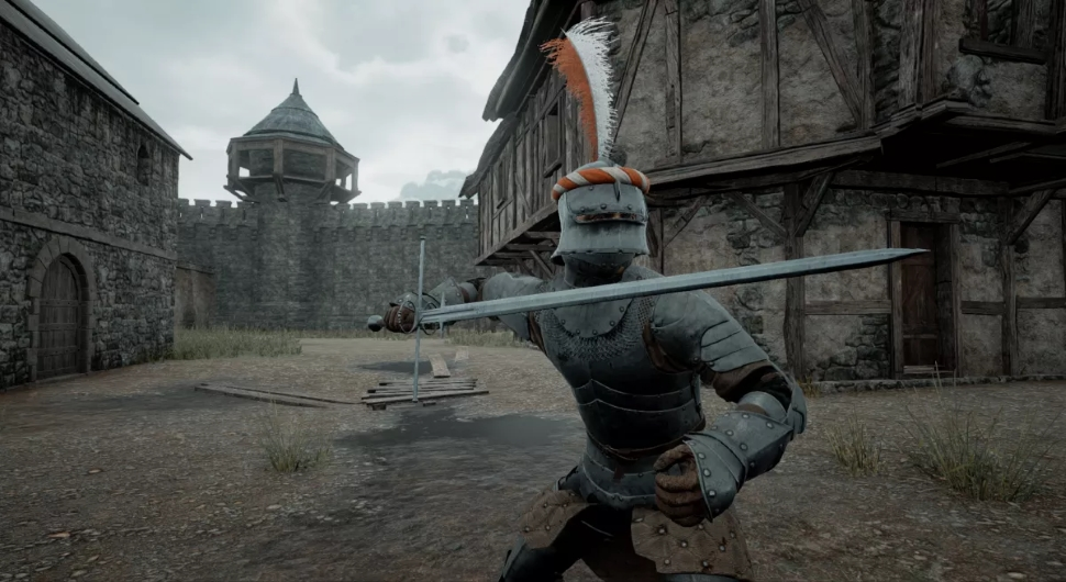 the black death knight