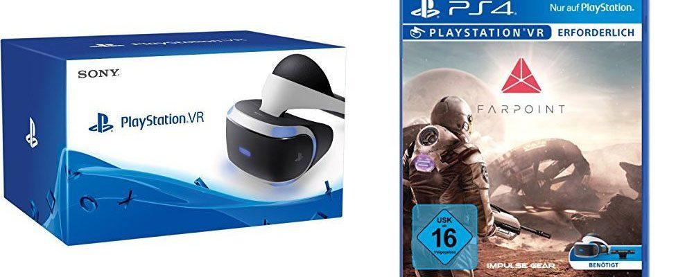 Amazon Blitzangebote am 13. Mai – PlayStation VR + Farpoint VR