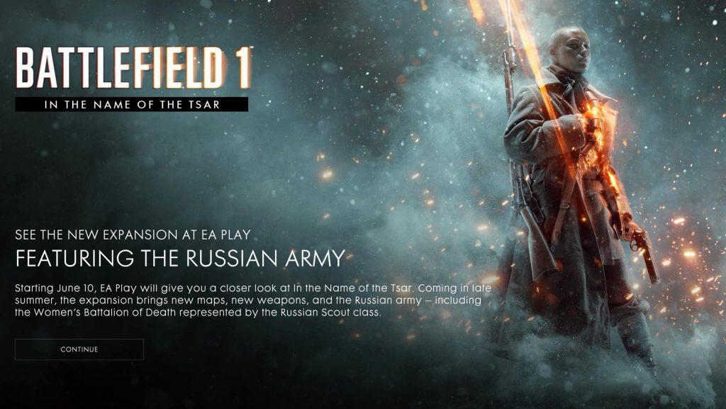 Battlefield 1 Frau Scout
