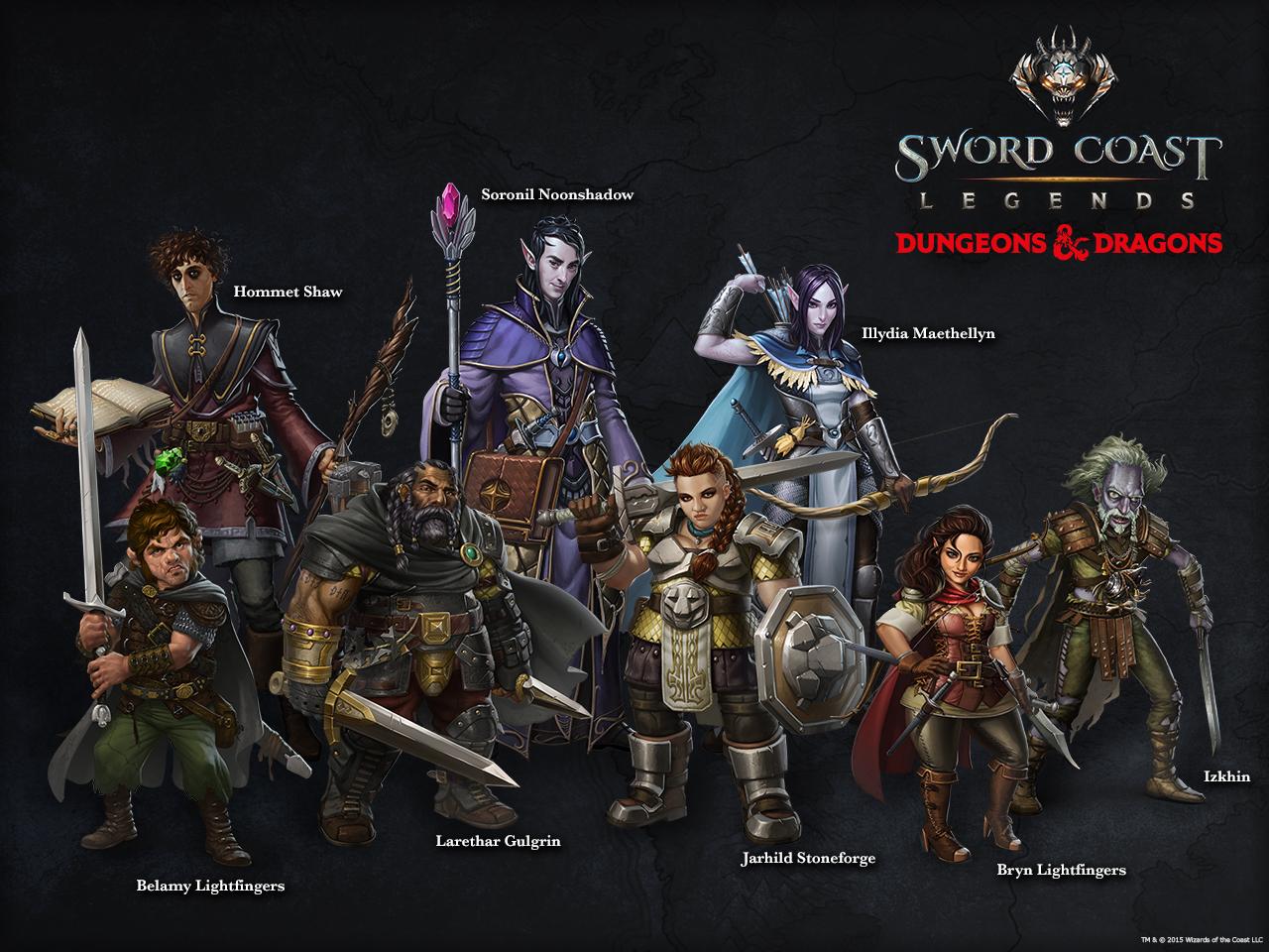 Dungeons und Dragons Sword Coast Legends