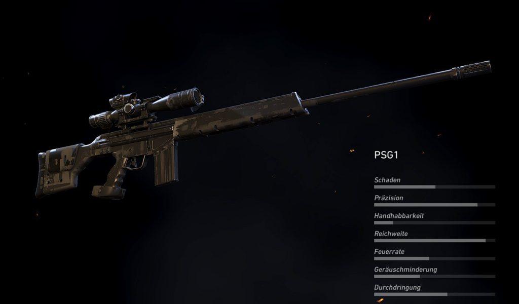 Fallen Ghosts PSG1