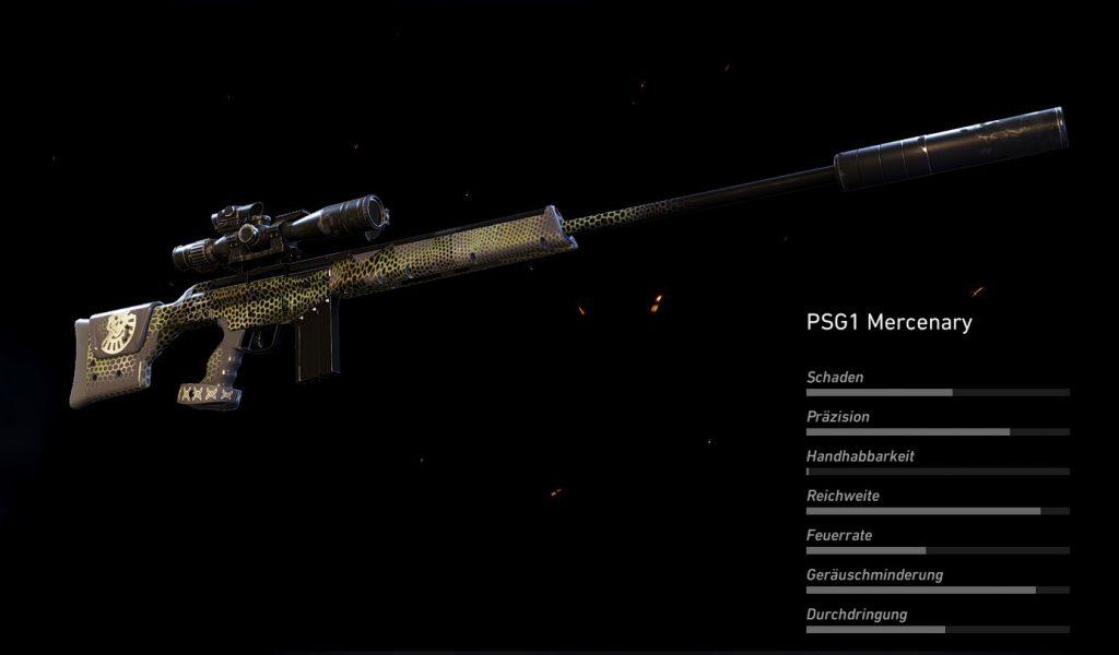 Fallen Ghosts PSG1 Mercenary