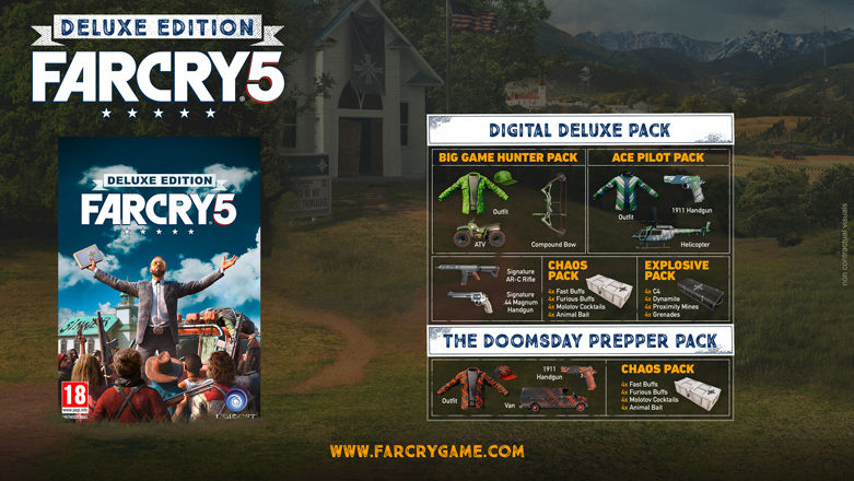 Far Cry 5 Vorbesteller Deluxe