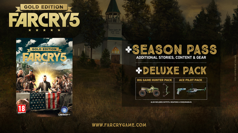 Far Cry 5 Vorbesteller Gold