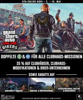 GTA 5 Online Bonuswoche klein