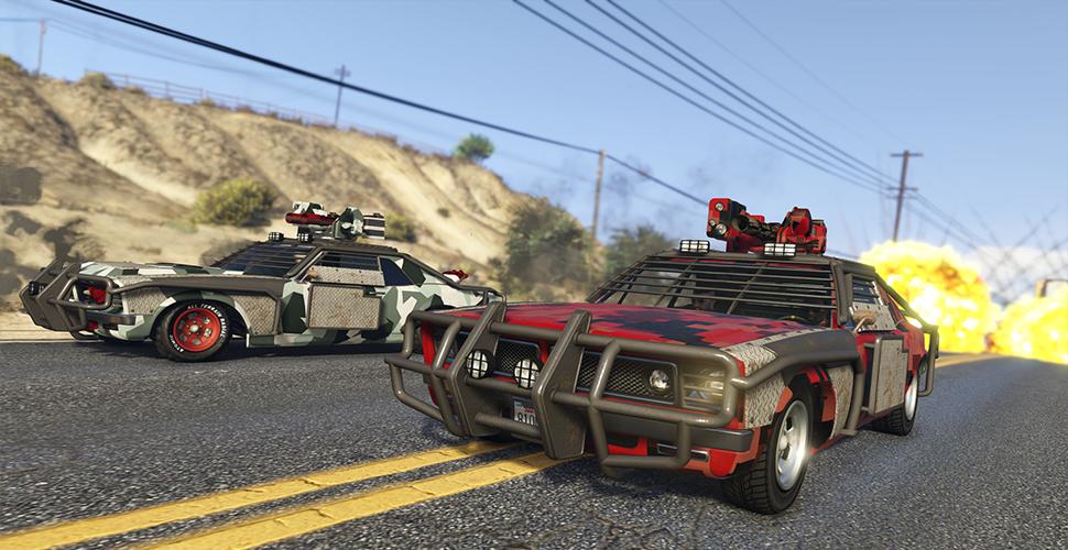 GTA 5 OnlineGunrunning 5.1