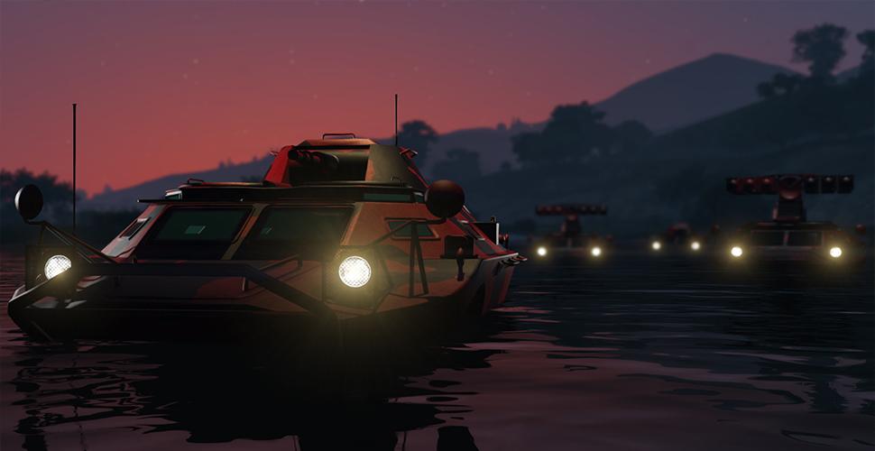 GTA 5 OnlineGunrunning 6.1