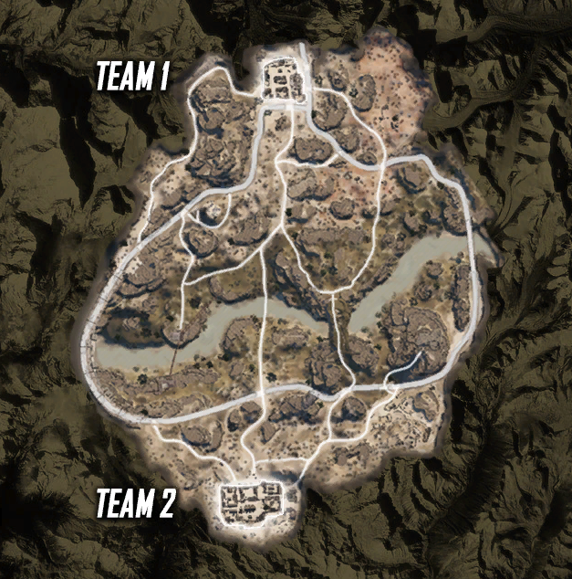 Ghost Recon Wildlands PvP Map Leak