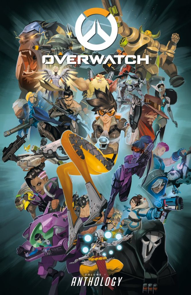 Overwatch Anthology Cover