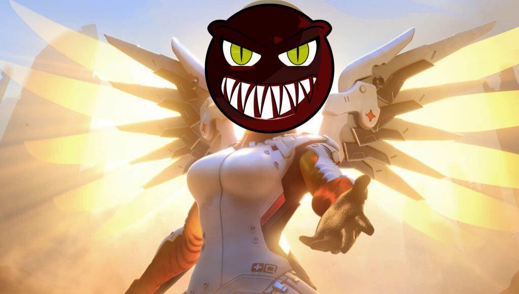 Overwatch Mercy Evilface