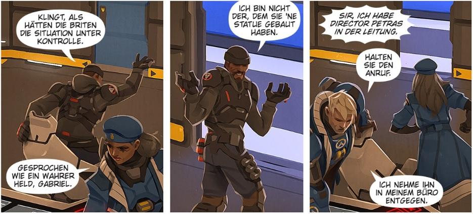 Overwatch Reaper Comic Shrug