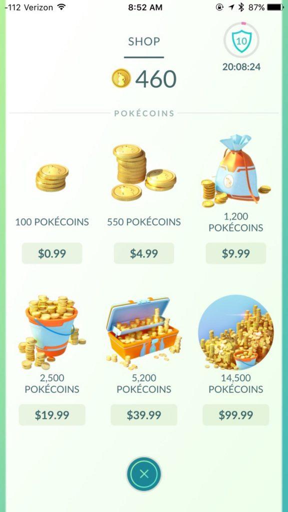 Pokémon GO Cheater Shop