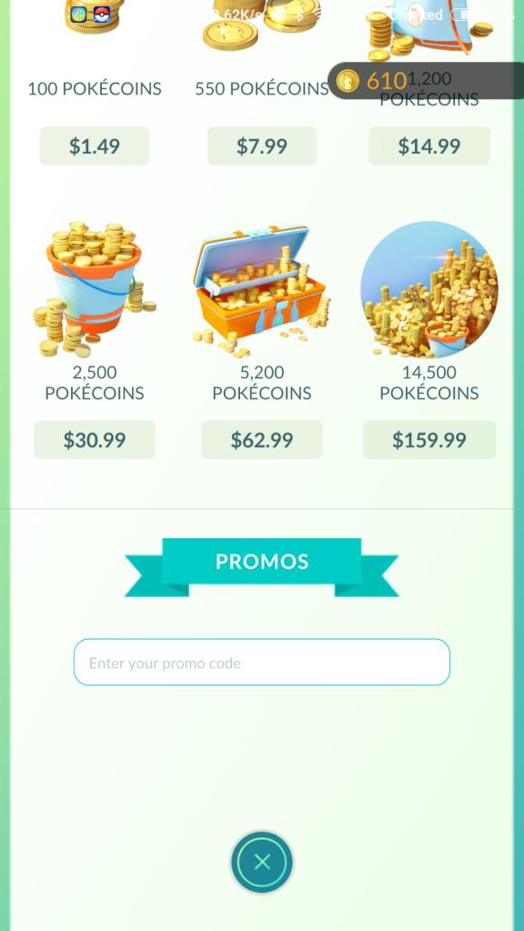Pokémon GO Promo