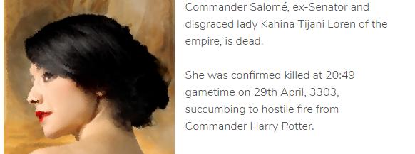 Salome Elite Dangerous