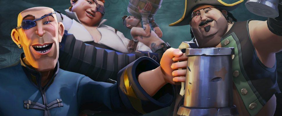 Spieler in Sea of Thieves lieben Gold, Twitch und 4-Mann-Schiffe