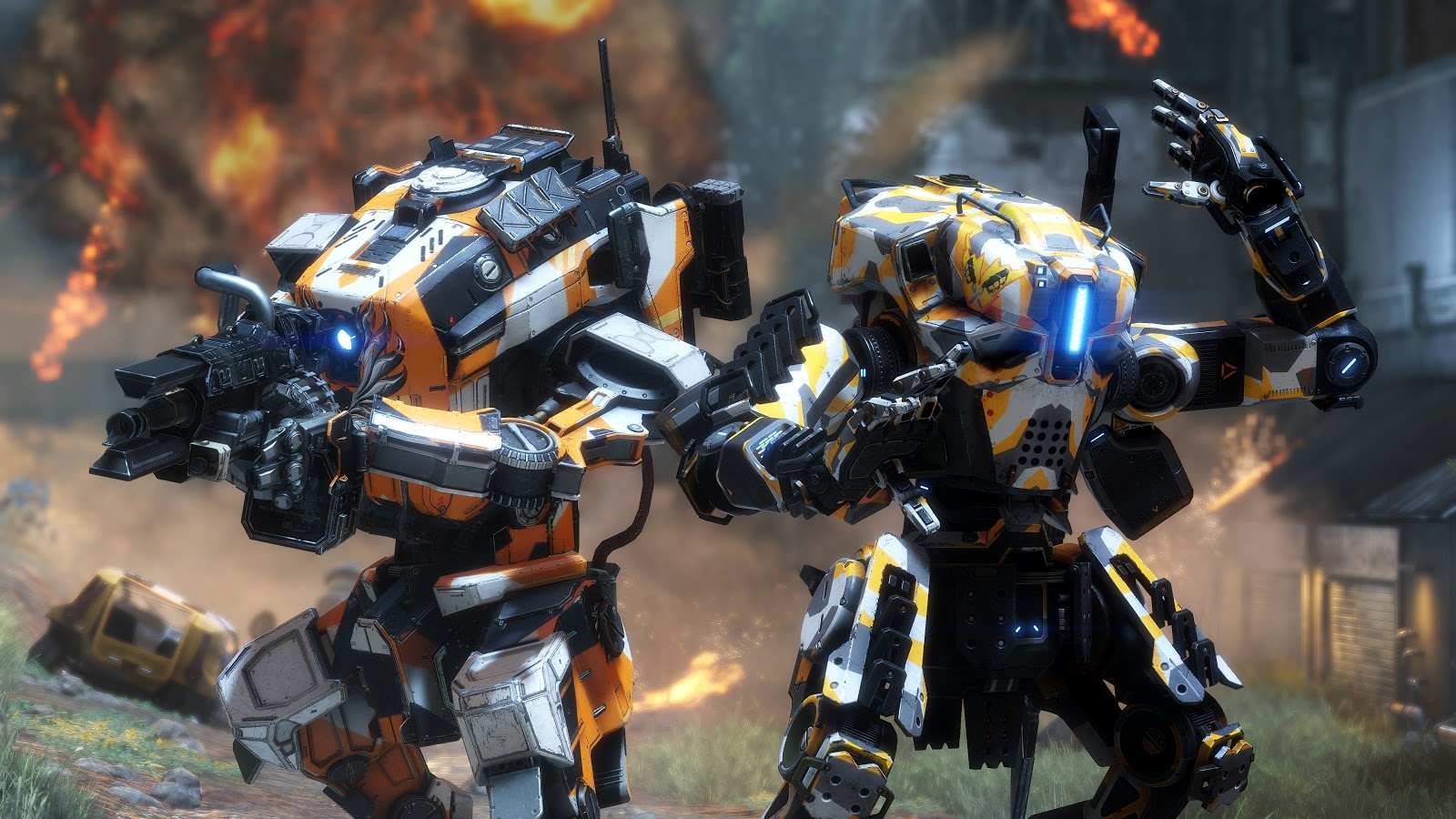 Titanfall 2 Prime Titans