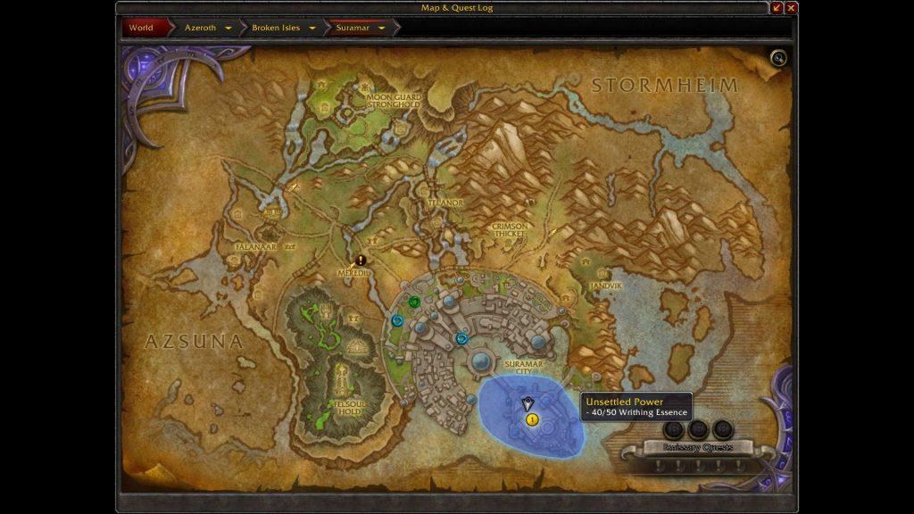 WoW Legendary aufwerten Screen 2