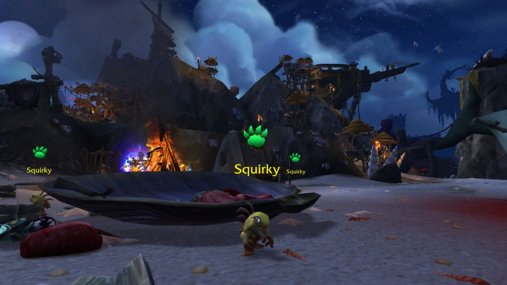 WoW Squirky Island