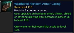 WoW Weathered Heirloom