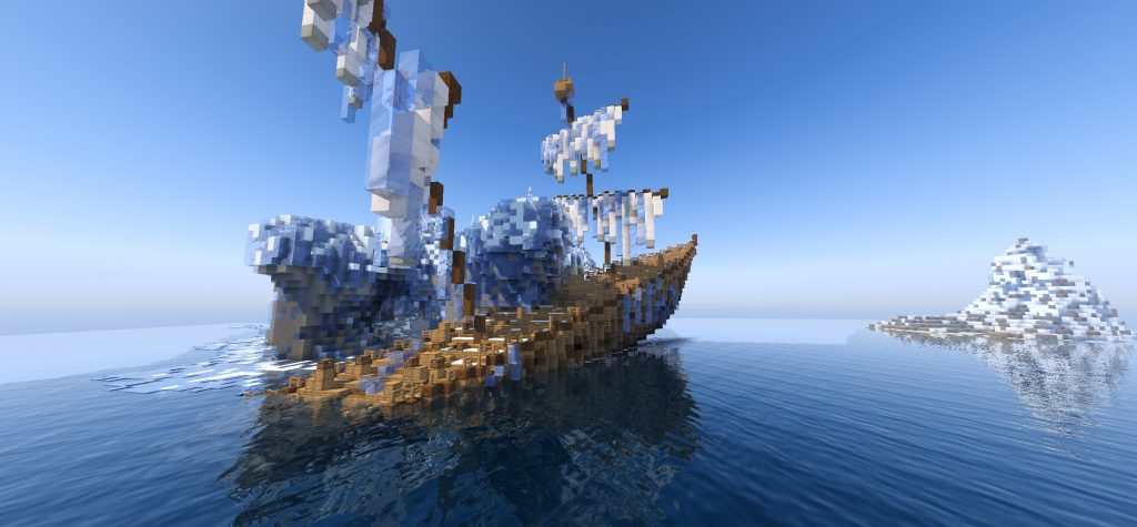 Wynncraft Schiff Meer