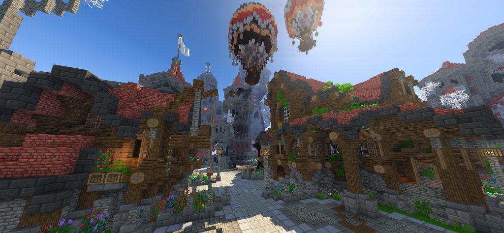 Wynncraft Steampunk Stadt
