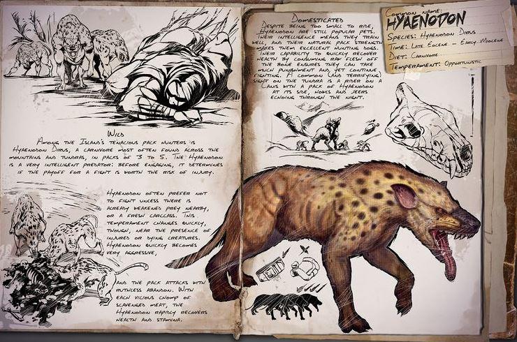ark hyaenodon