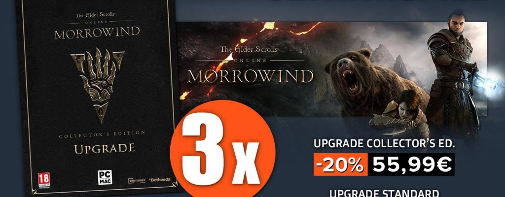 ESO Morrowind – Gewinnt Upgrades auf Collector's Edition und Early-Access