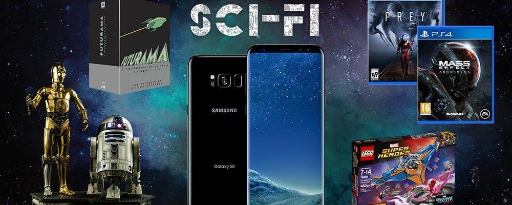 MegaWootbox Sci-Fi: Chance auf Samsung Galaxy S8, C3PO und R2-D2!