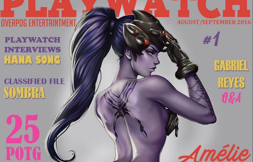 playboy overwatch widowmaker