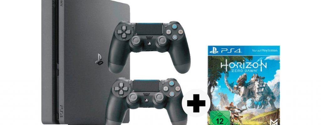 Saturn-Angebote: PS4 Slim 1 TB im Bundle mit Horizon Zero Dawn