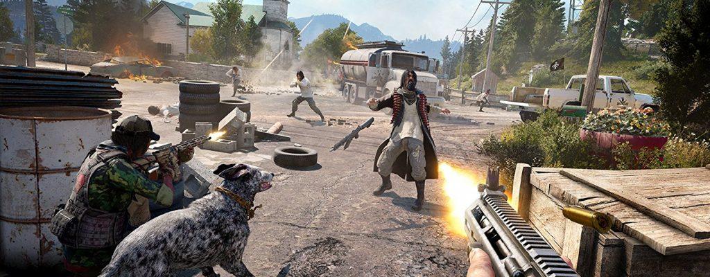 Far Cry 5: Neues Gameplay zeigt Ballern, Angeln – und den Witwenmacher