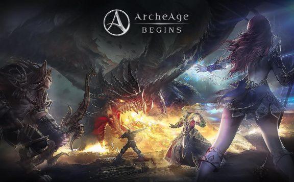 ArcheAge-Begins-Titel