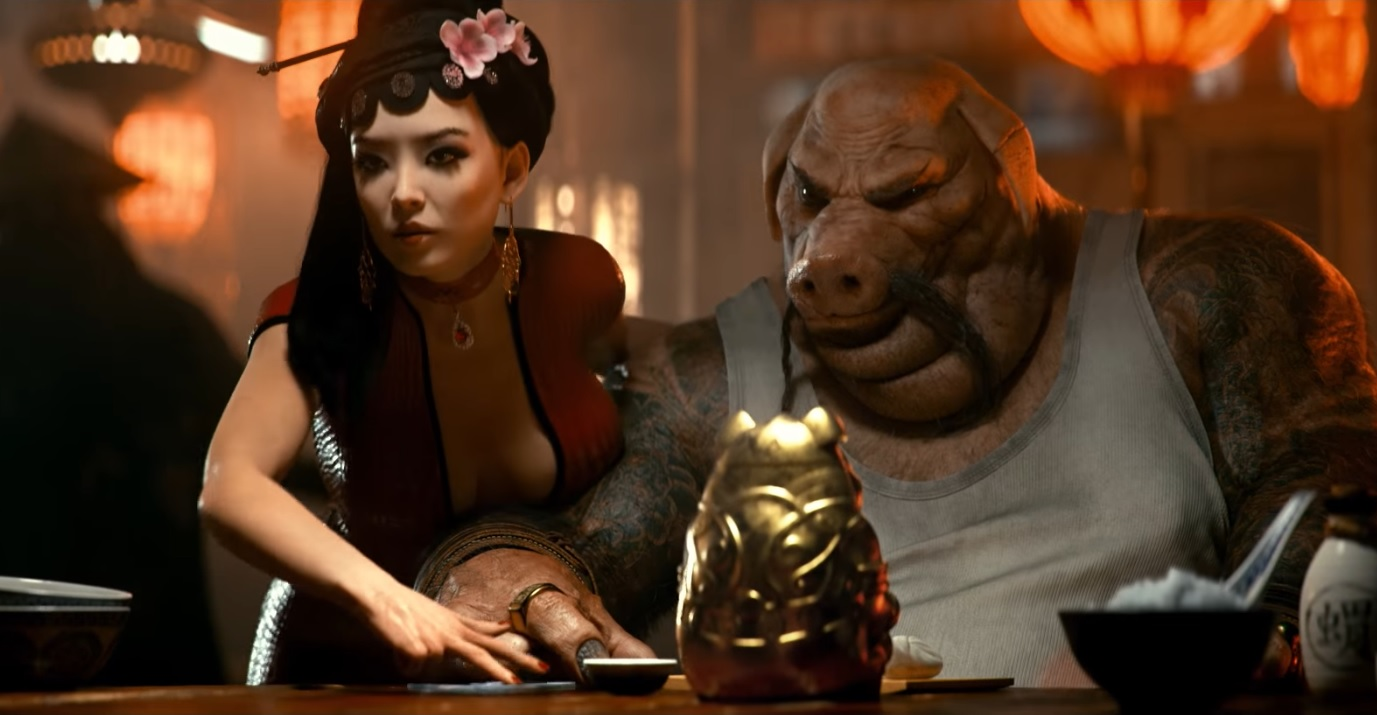 Beyond Good and Evil 2 Pig and Consort
