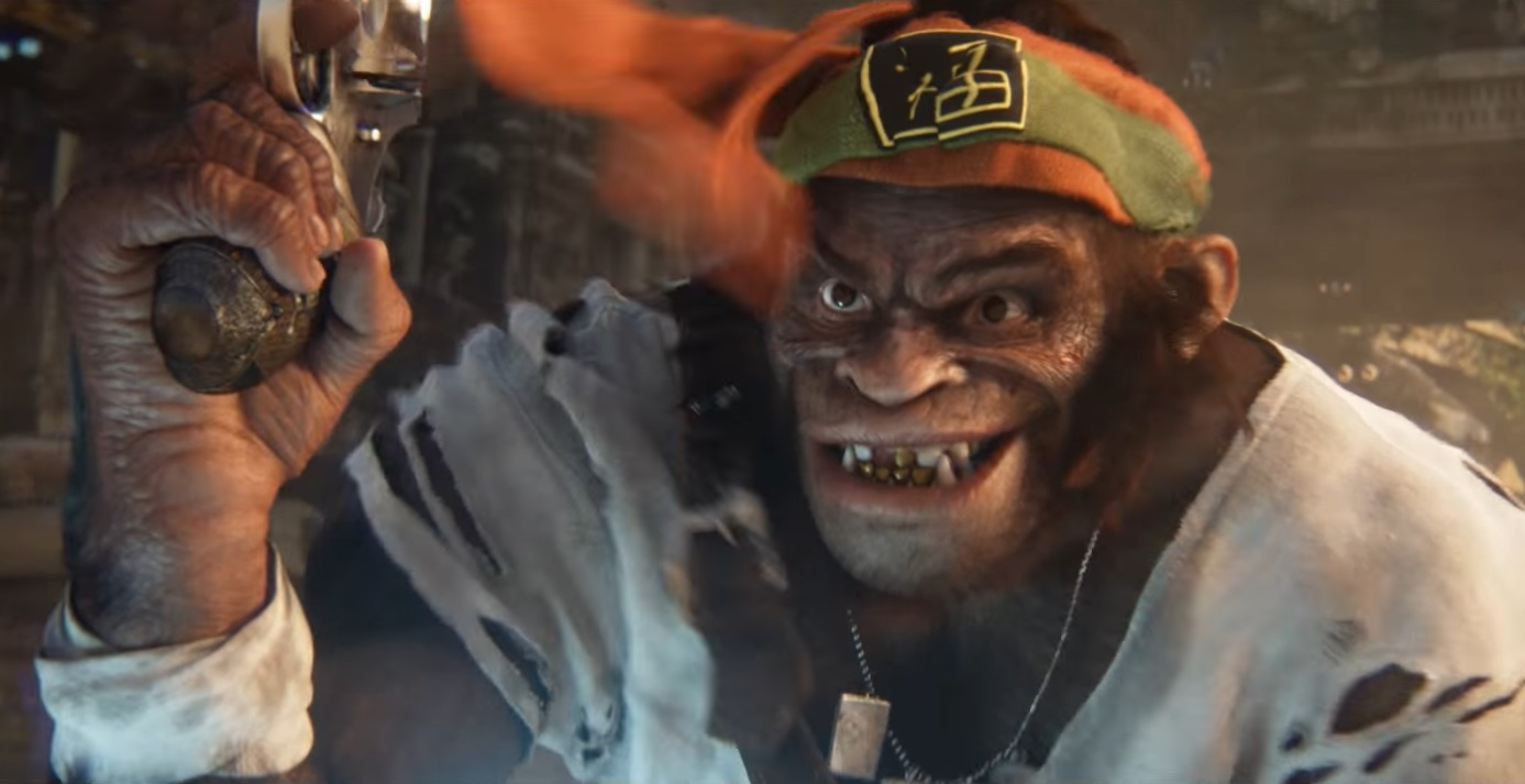 Beyond Good and Evil 2 Shooting monkey wtfisthisgame
